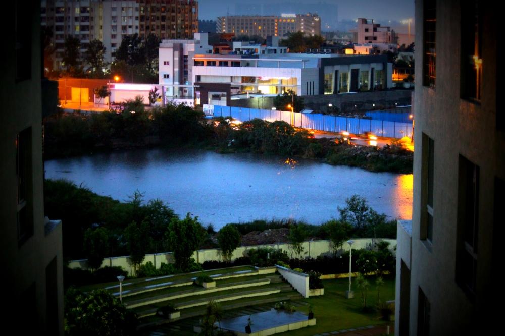 From my window- HD Edit.
